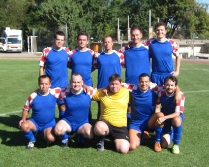 CCA football team - budapest 2012